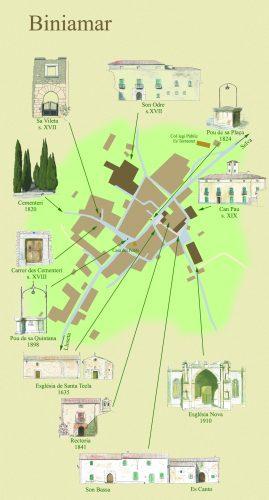 Mapa Biniamar